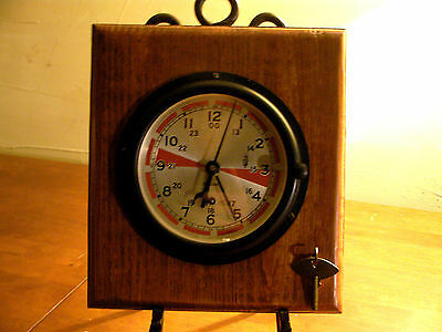 ** Chelsea Ships Clock / Radio Room**brand New Old Stock***look***
