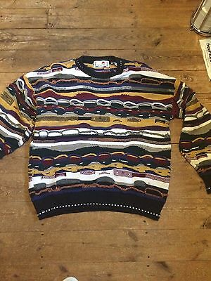 Florence Tricot Vintage Ugly Sweater Jumper Sweatshirt Coogi Style