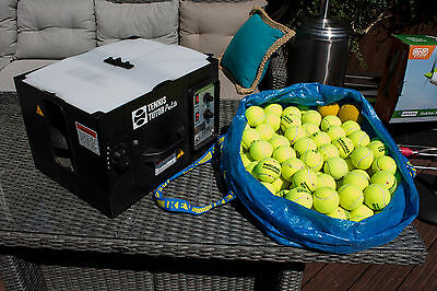 Tennis Tutor Prolite Ball Training Machine AC mains with Balls Included