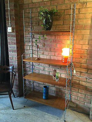 Vintage String Shelving Wall Unit by Nisse Strinning 1965