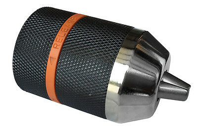 "2-13 Mm Click-Keyless Drill Chuck With 3/8""-24 Unf Thread"
