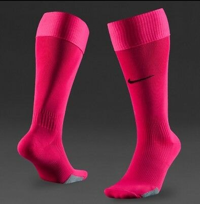 Nike Park IV Voltage Cherry (pink) football/Rugby/Sports socks adult UK Size XL