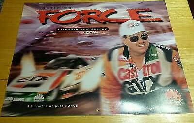 NHRA John Force / MAC Tools 1996/97 Calendar