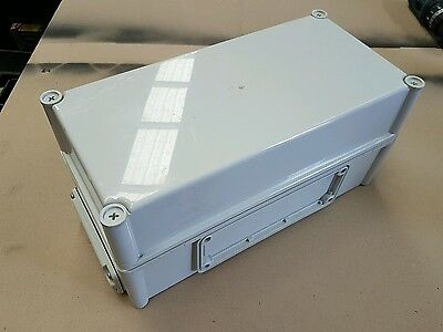 Electrical Junction Box Plastic - Waterproof Project Enclosure 30x 18x 18cm
