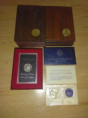 1972 Eisenhower Uncirculated Silver Dollar 40% Silver Mint Condition