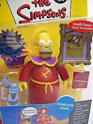 The Simpsons Series 10 Stonecutter Homer World of Springfield NEW Toy