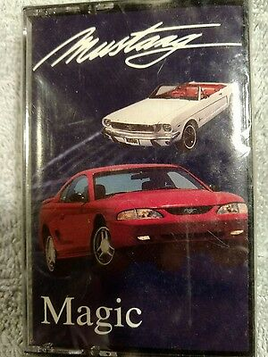 Ford 1994 Mustang Magic 30th anniversary casette tape 1964-1994