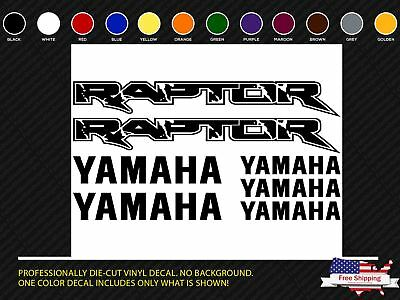 Yamaha Raptor 660 660R 700 Custom Graphics Decal Sticker Kit