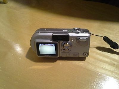 Sony Cyber-shot DSC-P9 4.0 MP Digital Camera - Silver, Case, Charger