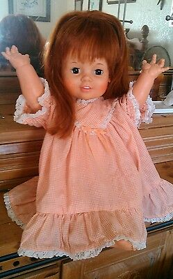 GORGEOUS Original BABY CRISSY Doll 1973 Her Red Hair Grows! FANTSTIC CONDITION!