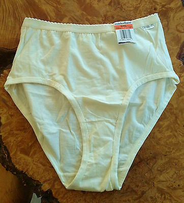 "Vintage Maidenform ""Simply Better Brief"" Panty Ivory Size 8 XL Style 40626 NWT"