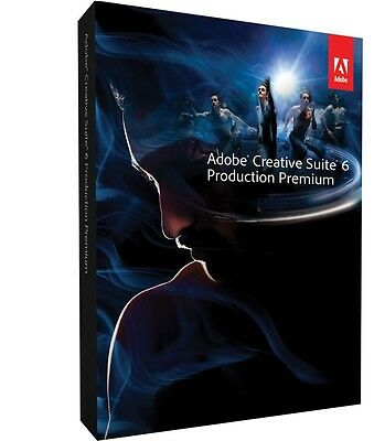 Adobe Production Premium CS6 Windows Download from Adobe