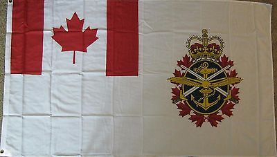 New 3' by 5' Canadian Armed Forces Flag. Free Shipping in Canada!