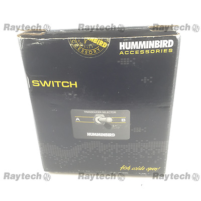 Humminbird Ts1-W Selector Switch For 2 Transducers Wide Eye Wide View Vision