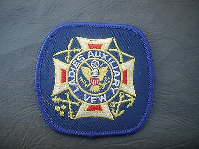 Ladies Auxiliary VFW Patch Brand New! Free Worldwide Shipping!!