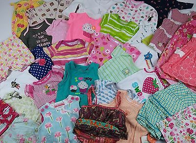 Wholesale Resale Baby Infant Girls Clothing Lot of 32 Assorted Sizes and Styles