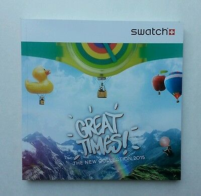 Swatch Watch Catalog Great Times - The New Collection 2015 ☆ 167 Style Pages