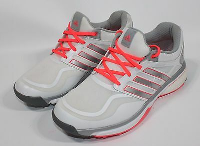 NEW Adidas Adipower Sport Boost 2 White/Pink Golf Shoes Womens Size 7