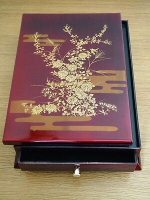 """""""AIZU SONE ART"""" Japanese lacquered letter box from Japan MAKIE"""