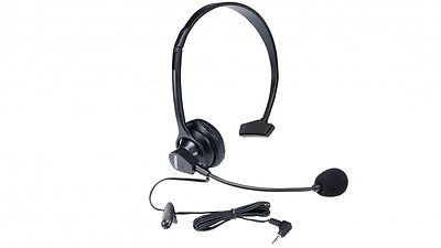 Uniden HS-910 2.5mm headset with boom microphone for cordless phones mic HS910