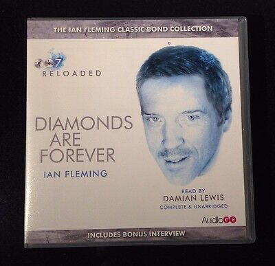Diamonds Are Forever - Ian Fleming - 6 Cd Audio Book - New/sealed
