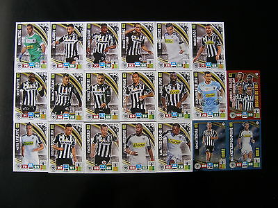 PANINI ADRENALYN XL FOOT 2016-2017 - SCO ANGERS EQUIPE - 20 cartes neuves