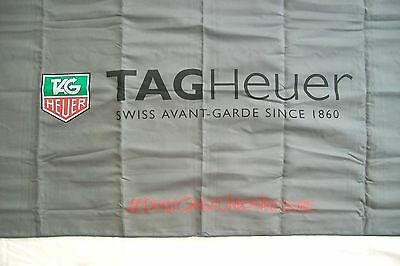 """TAG Heuer #Don't Crack Under Pressure Advertising Promo Cloth,  58"""" x 27"""""""