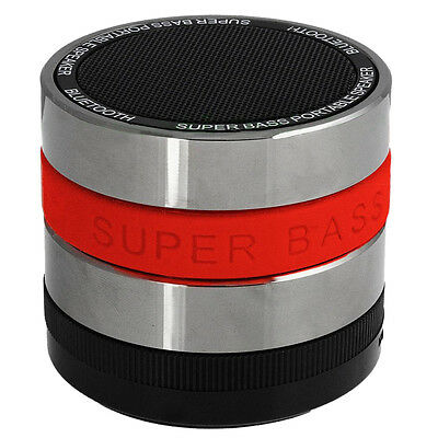SS Bluetooth Wireless Speaker Super Bass For iPhone 5S Samsung Tablet