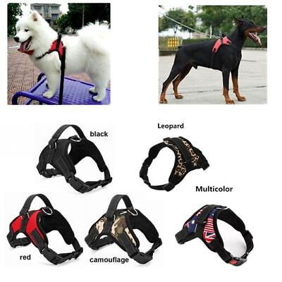 Adjustable Soft Padded Non Pull Dog Harness Vest Multi Colour Small Medium Large