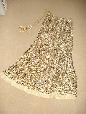 Gold Wedding Lehenga