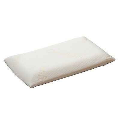 Clevamama Foam Baby Pillow (ClevaFoam, White)