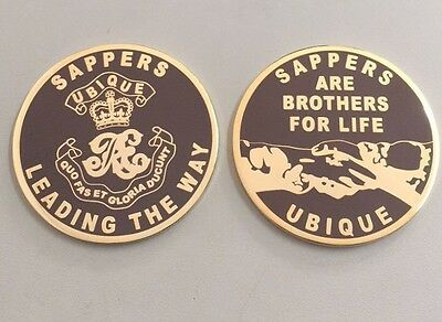 Sappers- Royal Engineers - British Army Challenge Coin