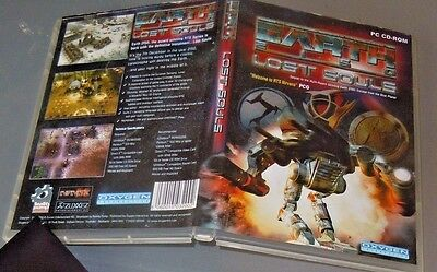 EARTH  2150 lost souls expansion dvd PC2002 VGC classic rts