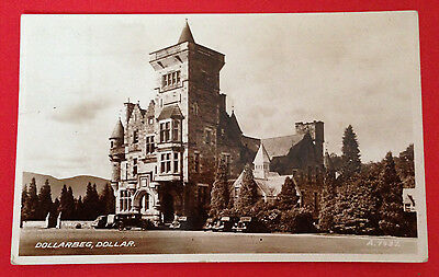 Clackmannanshire - Dollarbeg, Dollar RP PC Publ. Valentine, Dated 1951 No PM