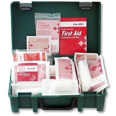 Ezy-Aid HSE Compliant Home, Travel and Workplace First Aid Kit for 1 - 10 Person
