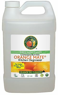 earth friendly products concentrated orange mate kitchen degreaser 378 litre - Kitchen Degreaser