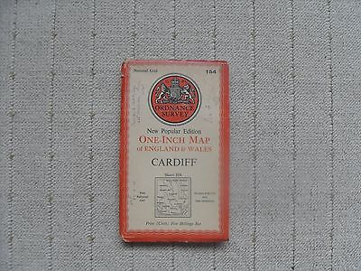 1947 OS Map - Cardiff