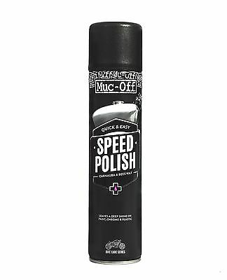 Muc-Off Motorcycle Speed Polish 400ml - SAME DAY DISPATCH