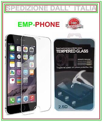 Pellicola Vetro Temperato Apple Iphone 7 6 6S E 6 6S PLUS 5S 5C 5 SE Display