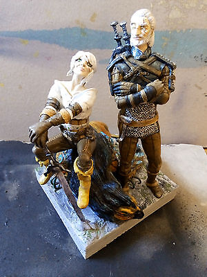 """The Witcher sculpture (""""Just a Witcher"""") 28 cm - just one copy in the world"""