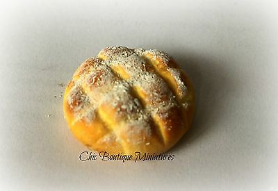 1:12 Dolls House Miniature Sour Dough Loaf of Bread-Food-Accessory-Bakery