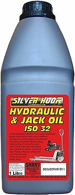 Silverhook SHRH1 ISO 32 Hydraulic Oil 1 Liter - SAME DAY DISPATCH