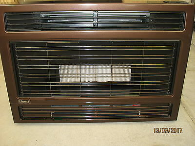 Rinnai Spectrum 28 Natural Gas Space Heater - As New