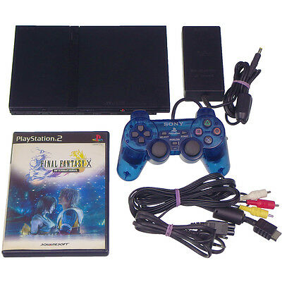 Sony PS2 SCPH-70000 Slim Console PlayStation2 Japan Import Working Tested NTSC-J