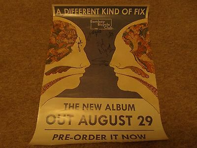 Signed Bombay Bicycle Club,lucy Rose A Different Kind Of Fix Album Promo Poster