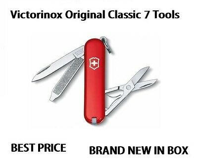 0.6223 Victorinox Classic SD Swiss Army Knife Red Pocket Knife VI53001 56011