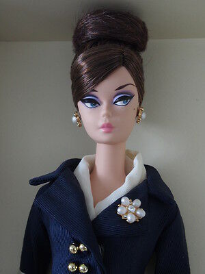 Gold Label Silkstone Boater Barbie 2013 *removed from box*