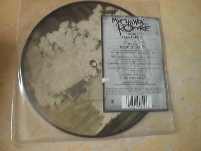 """My Chemical Romance - Teenagers / Dead! Live  7"""" Picture Disc vinyl record"""