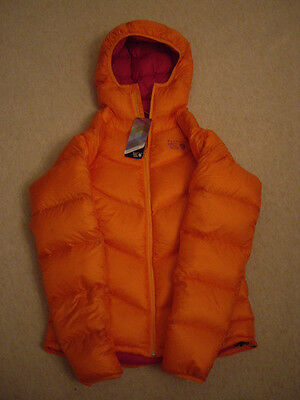 BNWT Mountain Hardwear Womens Orange Kelvinator down jacket size L