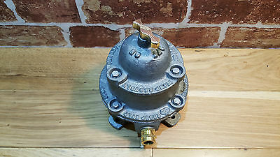 Vintage Walsall Industrial 16A Light Switch - made in England
